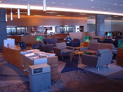 Sydney Air Canada koru club business class lounge Oct 2003