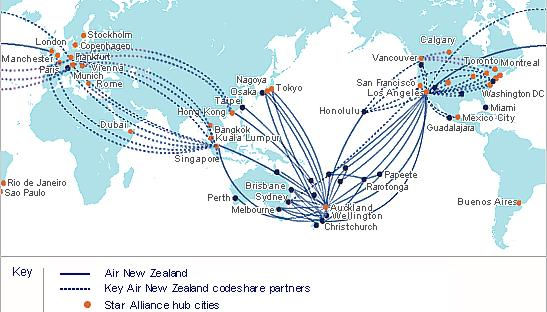 World Airline Route Map http://www.airreview.com/AirNZ/Routes.htm