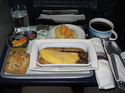 Food on my flight