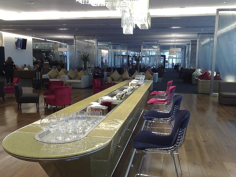 LHR: Heathrow Terminal 5 - British Airways - Galleries First Lounge