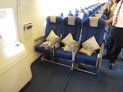 Economy british airways old world traveller plus seat on a boeing 777