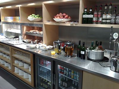London LHR Star Alliance lounge March 2009