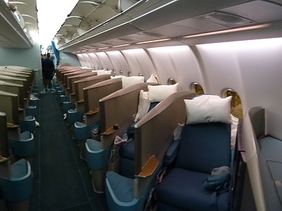 cathay pacific business class. Cathay Pacific Airbus A330