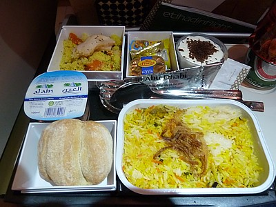 The gallery for --> Etihad Airways Economy Class Food Menu