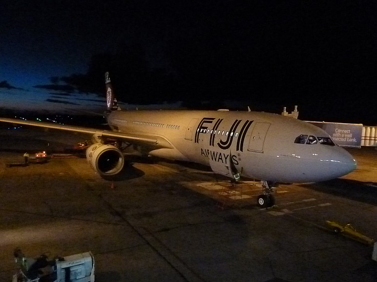 Fiji Airways A330 Nadi Apr 2014