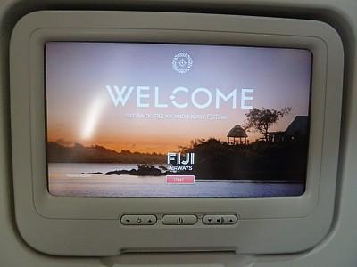 Fiji Airways Reviews - In flight Entertainment - Seatback TV