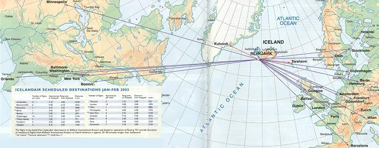 IcelandAir Reviews - Overview - Pictures & reviews of ... on airports map, airlines map, interjet route map, internet traffic map, transit world map, air service map, rail map, aeroflot route map, shipping map, china route map, afghanistan map, airasia route map, asia map, egyptair route map, westjet route map, cathay pacific route map, roads map, air products map, air route to europe, adoption map,