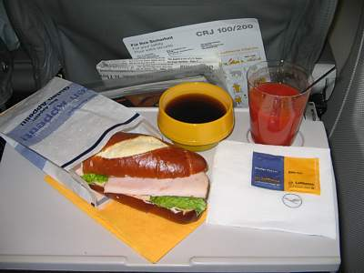 Lufthansa - Reviews - Inflight Food - Airline meal pictures