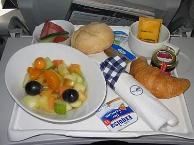 Image Gallery lufthansa food