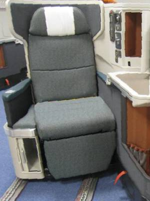 New Cathay Pacific Business Class seat