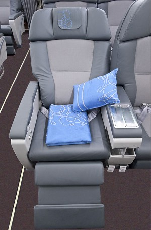 New Iberia Business Class seat