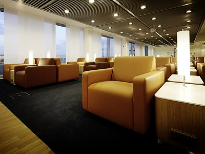 The new Lufthansa Senator Lounge in Frankfurt pier B