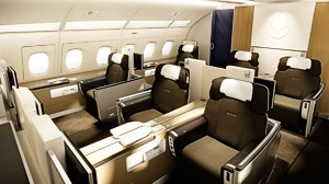 the gallery for lufthansa first class. Black Bedroom Furniture Sets. Home Design Ideas