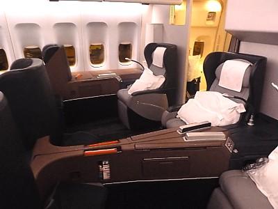 Image Gallery Qantas 747 Interior