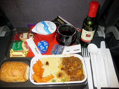 Qantas reviews inflight food airline meal pictures for Cuisine 800 wow