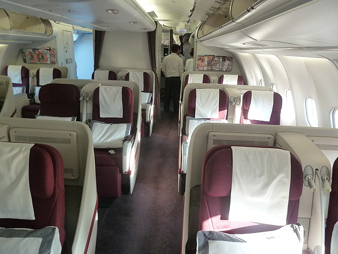 qatar airways aircraft color palette