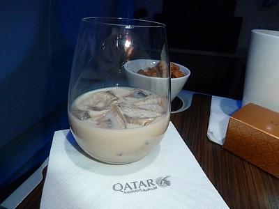 Qatar Airways Drink Baileys