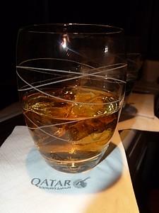 Qatar Airways - whisky