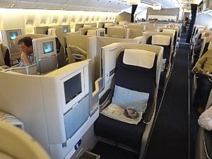 British Airways 777 seat plan - 12F version - British