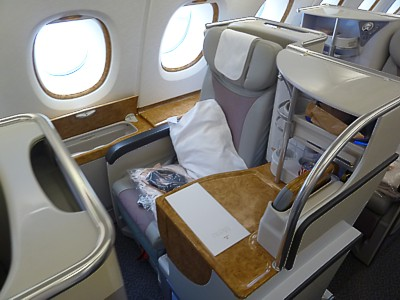 Delta A380 Business Class | Oxynux.Org