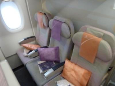 Sitzplan seatguru a380 emirates Airbus a380