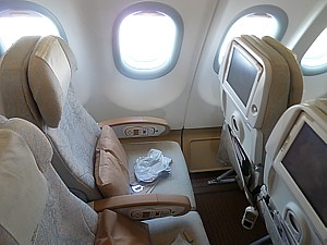 Etihad A340 Seat Plan Etihad Airbus A340 600 Seating
