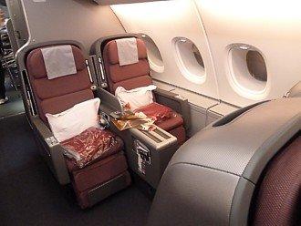 Qantas a380 business class seating plan