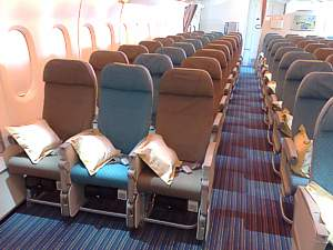 Singapore Airlines A380 Economy Seats