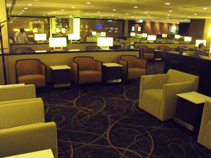 Singapore airlines hong kong business first class lounge review with pictures - Delta airlines hong kong office ...