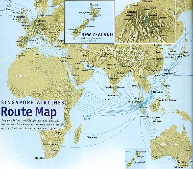 Singapore Airlines - Reviews - Routes & Schedules - Analysis ...