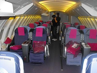 Boeing 747 Thai Airways Thai Airways 747 Business