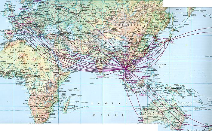US Airways Reviews Routes Schedules Analysis Opinions Usair - Us airways direct flights map