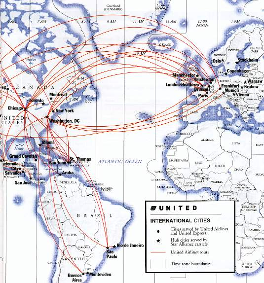 Best Use Of British Airways Avios Airlines Route Map Domestic - Us airways destinations map