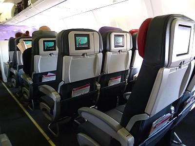 Virgin Australia Reviews - In flight Entertainment - Seatback TV