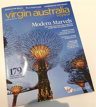 Virgin Australia Reviews - In flight Entertainment