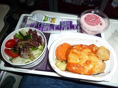 Virgin Atlantic Reviews Inflight Food Airline Meal