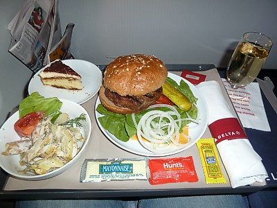 Delta Reviews Inflight Food Airline Meal Pictures